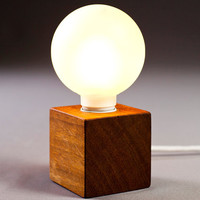 "solid wood lamp ""enkle"""