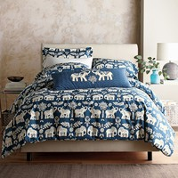 Passage Percale Duvet Cover & Sham