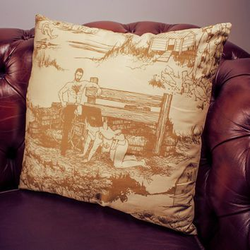 Cowpoke Cushion by Vice Merchants at Firebox.com