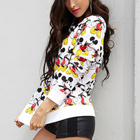 Mickey Mouse© Raglan Sweatshirt