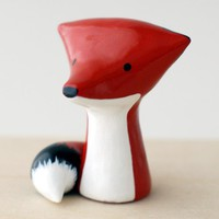 Handmade Gifts | Independent Design | Vintage Goods Mini Red Fox Figurine - Home Decor - For The Home