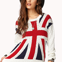Slub Knit Union Jack Sweater