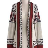 Red Rock Canyon Cardigan | Mod Retro Vintage Sweaters | ModCloth.com