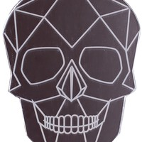 SKULL POCKET MIRROR