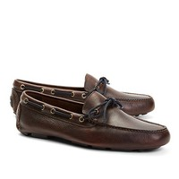 Pebble Leather Driving Moc - Brooks Brothers