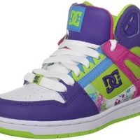 DC Women's Rebound Hi Action Sports Shoe