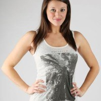Obey Women's Canopy Burnout Tank Top - Natural - Punk.com
