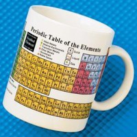Periodic Table of The Elements Coffee Mug | Edmund Scientific