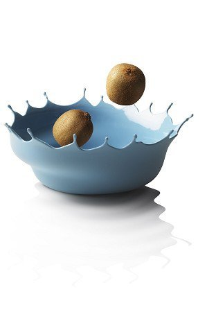 Dropp!! Fruit Bowl in Storm Blue