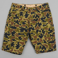 kaptain sunshine - weekend bermuda shorts rip stop camo