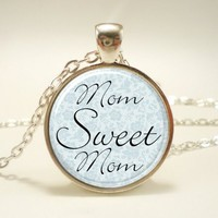 Mothers Day Gift Idea, Gifts For Mom, Mom Necklace (0665S1IN) | CellsDividing - Jewelry on ArtFire
