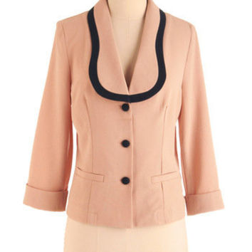 Power Pursuit Blazer | Mod Retro Vintage Jackets | ModCloth.com