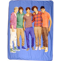 "Walmart: One Direction Group Shot 50"" x 60"" Throw"