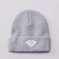 Flatspot - Diamond Brilliant Fold Beanie Grey