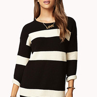 Striped Boyfriend Sweater