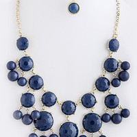 Tessa Bubble Round Bead Necklace