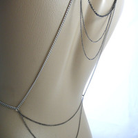 Necklace for backless dress Back and Body by IndependentAccents