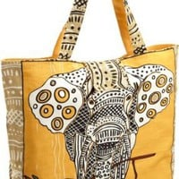 Amazon.com: Echo Design Women's Elephant Tote: Clothing