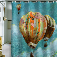 DENY Designs Home Accessories | Land Of Lulu Herd Of Ballons 1 Shower Curtain