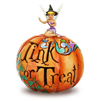 Disney Tinker Bell Jack O'Lantern by Jim Shore | Disney Store