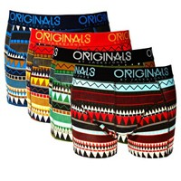 Jack & Jones Peasu 4 Pack Trunks at asos.com