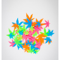 Pot Leaf Glow Shapes 50 Pk