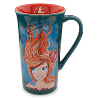 Disney The Art of Ariel Mug - Pumpkin/Teal | Disney Store