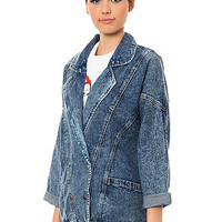 *MKL Collective The Oversize Denim Jacket in Indigo : Karmaloop.com - Global Concrete Culture