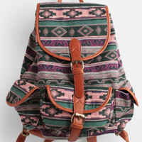 Isabel Aztec Print Backpack