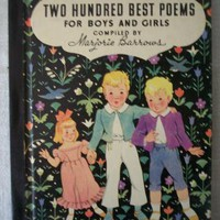 Two Hundred Best Poems For Boys and Girls by SandyCreekCollectables