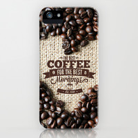 Coffee Love iPhone & iPod Case by Snaps Between Naps (by Belle13)