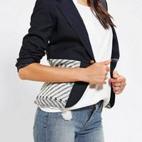Urban Outfitters - Urban Renewal Pieced Sweater Blazer