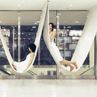 Sans Stand: Modern Free-Hanging Chair + Hammock Design | Designs & Ideas on Dornob