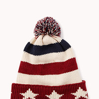 Star Spangled Pom Hat | FOREVER 21 - 2040496803