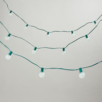 Frosted Bulb String Lights - World Market