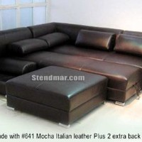 NEW Modern Euro Design Sectional Sofa w/ Queen Bed S1105