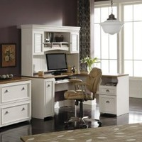 Home Office Furniture Set 1 - Fairview Collection - Bush Office Furniture - FV-OSET-1
