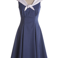 Sailor's Sweetheart Dress - $97.95 : Indie, Retro, Party, Vintage, Plus Size, Convertible, Cocktail Dresses in Canada