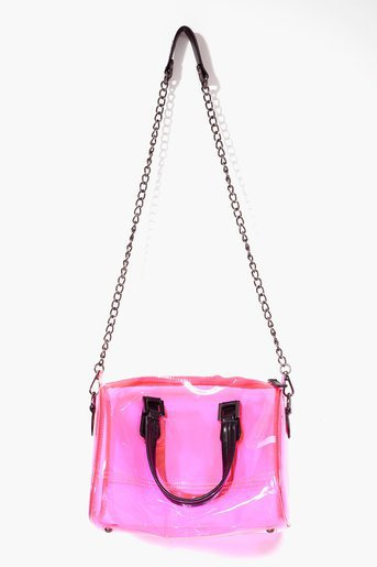 Electric Jelly Bag - Pink in What's New at Nasty Gal