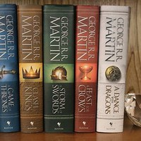 Game of Thrones A Song of Ice and Fire Saga Series Set 1-5 Hardcover Perfect!!!!
