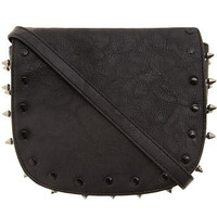 Black stud crossbody bag - Dorothy Perkins United States