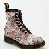 Urban Outfitters - Dr. Martens 1460 Floral Drawing 8-Eye Boot