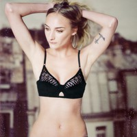 Padded Lace Bra | Black | & Other Stories