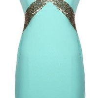 Mint Paparazzi Dress | Sequin Mini Party Dresses | Rickety Rack