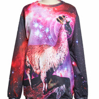 Beloved King Llama Sweatshirt