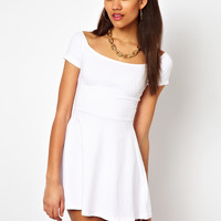Motel | Motel Catalina Skater Dress at ASOS