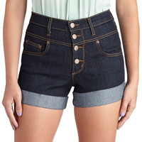 Karaoke Songstress Shorts | Mod Retro Vintage Shorts | ModCloth.com