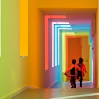 DLW Linoleum, Nursery school, Albolote by Armstrong, design at STYLEPARK