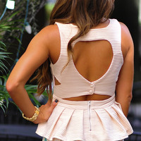 Your Favorite Little Top: Ivory | Hope's