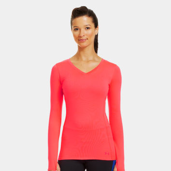 Women's ColdGear® Infrared V-Neck Long Sleeve